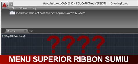 barra superior do autocad sumiu o menu superior do autocad ribbon sumiu resolva agora
