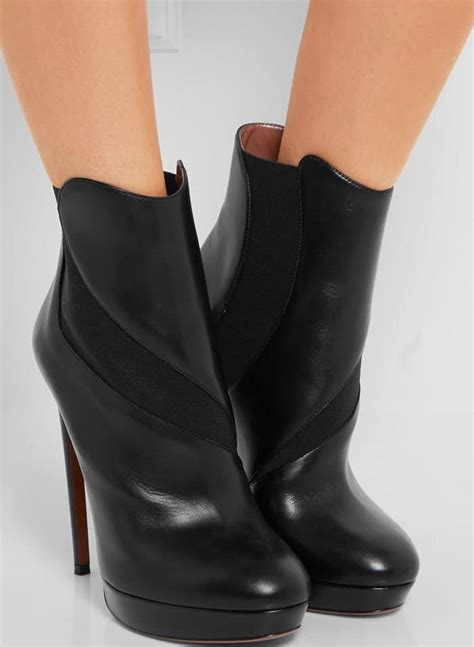 alaia boots madonna sings along to beatles in platform ala 239 a boots