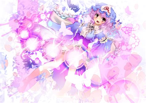 Dress Miyabi 4 blush butterfly dress hat maisaki miyabi pink pink hair