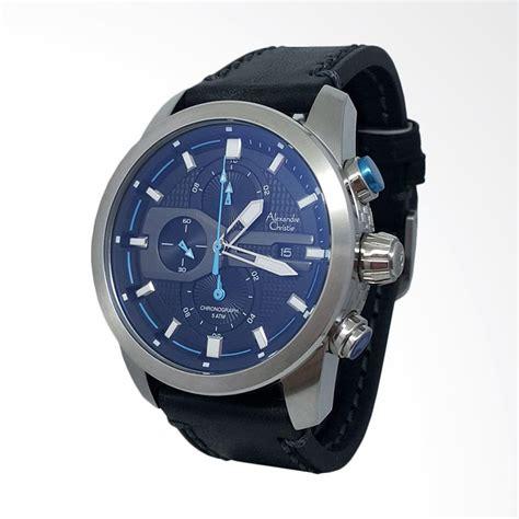 Jam Tangan Pria Alexandre Christie 6442 Hitam Silver Original Murah jual alexandre christie chronograph tali kulit jam tangan pria silver hitam 142367