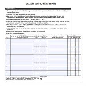 sales report template 6 free sales report templates excel pdf formats