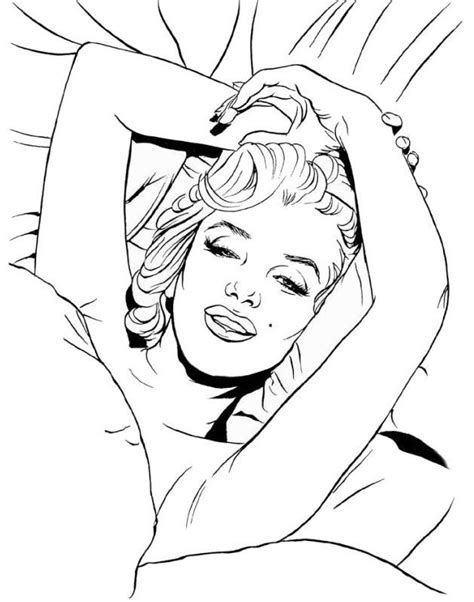 Sexy Pin Up Coloring Pages Printable Coloring Pages Pin Up Coloring Pages Printable