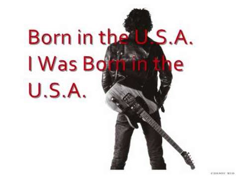 born in the usa testo born in the usa lyrics buzzpls
