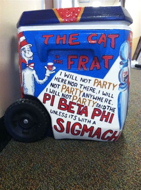 Cat Sigma Paint 1000 ideas about phi sigma kappa on sigma kappa coolers and painted fraternity coolers