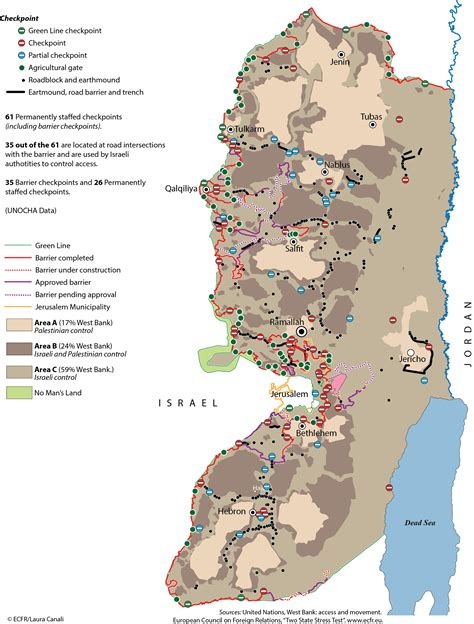 area a west bank israel will never parts of the west bank says