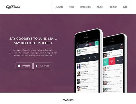 best themes in mobile 30 best app showcase wordpress themes 2018 athemes