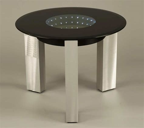 accent tables contemporary modern black glass end table nl143 contemporary