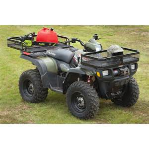 guide gear atv front rear basket set 401352 racks bags