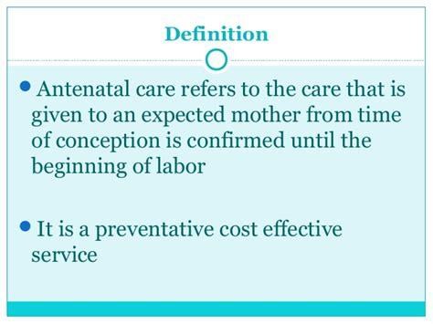 diagnosis  pregnancy antenatal care  undergraduate