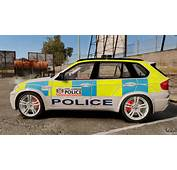 BMW X5 City Of London Police ELS For GTA 4 Left View