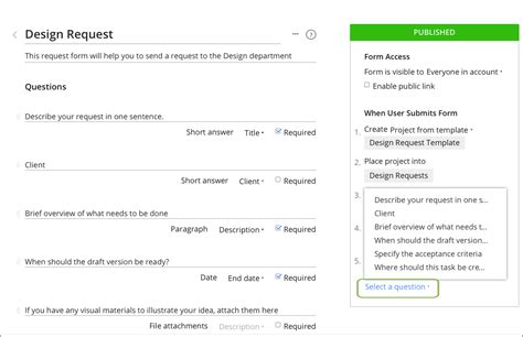Architect Request For Template Create A Request Form For Admins Wrike Help Portal