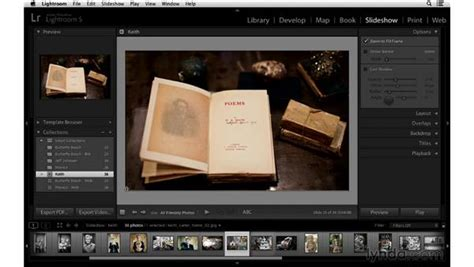 Using Slideshow Templates And Customizing The Layout Lightroom Slideshow Templates Free
