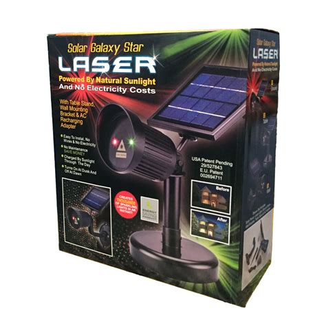 solar galaxy laser light astro laser and green light outdoor lighting