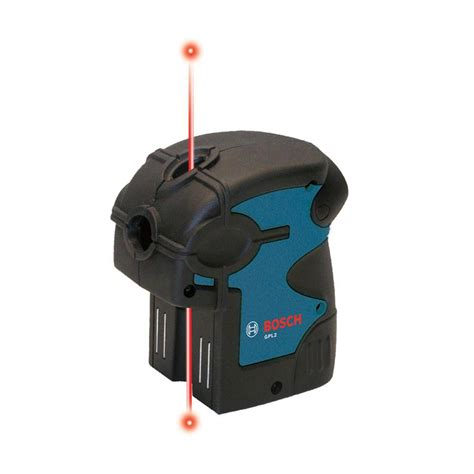 bosch laser level bosch factory reconditioned 2 point self leveling laser level gpl2 rt the home depot