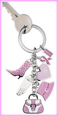 Fossil Keyfob Multi Pink coach pink multi charm keyfob purseblog