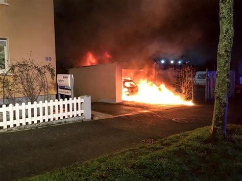 saarpfalz garage auto und garage in neunkirchen ausgebrannt