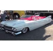1959 Slammed Cadillac By Sic Chops SEMA 2013  YouTube