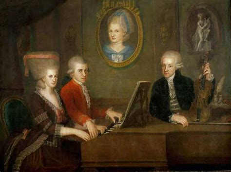 mozart family biography biography mozart and his father