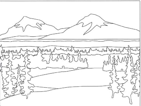 desert landscape coloring page royalty free rf clipart