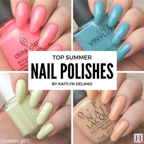nail colors for summer summer 2016 nail colours that make a statement