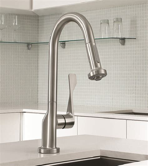 Commercial Style Kitchen Faucet   new Axor Citterio Prep Faucet by Hansgrohe