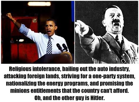 Obama Hitler Meme - video a factual comparision similarities between mb