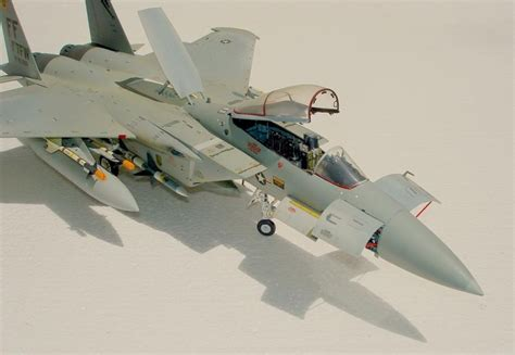 Painting F 15 Model by Monogam 48th Scale F 15 Eagle Imodeler