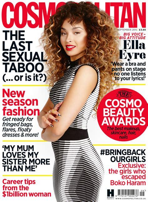 cosmopolitan word ella eyre covers cosmopolitan uk september 2015