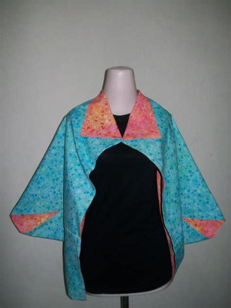 jual bolero batik menarik model bolak balik bisa dipakai dari dua sisi bl010 toko batik