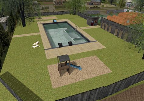 Outdoor Ls outdoor pool v 1 0 for ls 15 farming simulator 2015 15 mod
