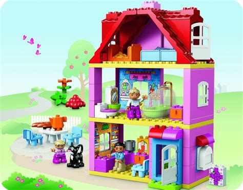 duplo doll house lego duplo 10505 legoville family house кукольный домик отзывы
