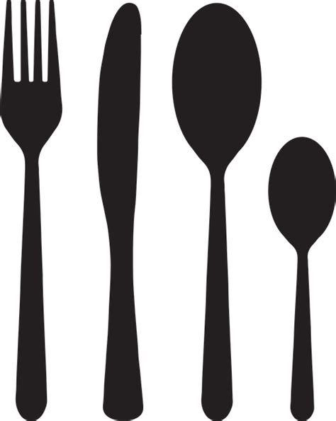 knife and cutlery free vector graphic cutlery fork knife spoon free