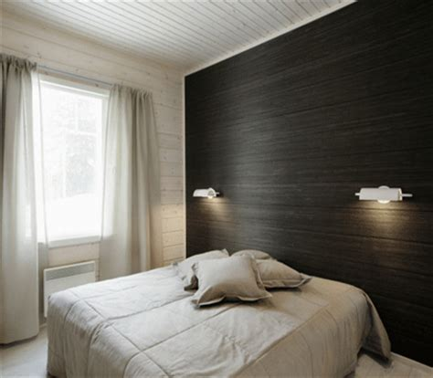 black pattern wallpaper bedroom modern bedroom wallpaper one wall decoration trends