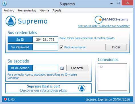 supremo desktop supremo remote desktop descargar