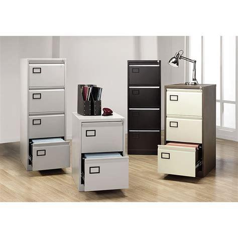 Bisley 3 Drawer Foolscap Filing Cabinet, Grey   Staples®