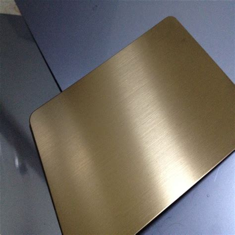 steel color no 4 gold titanium stainless steel color decorative sheets