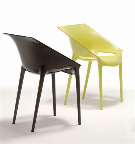 kartell dr yes plastic chair dining room furniture