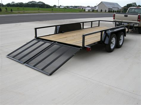 flat bed trailer utility trailers the built rite trailer by sport inc