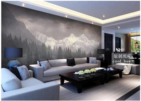 misty mountains wall mural home decor walls customized 3d photo wallpaper for walls 3 d wall murals