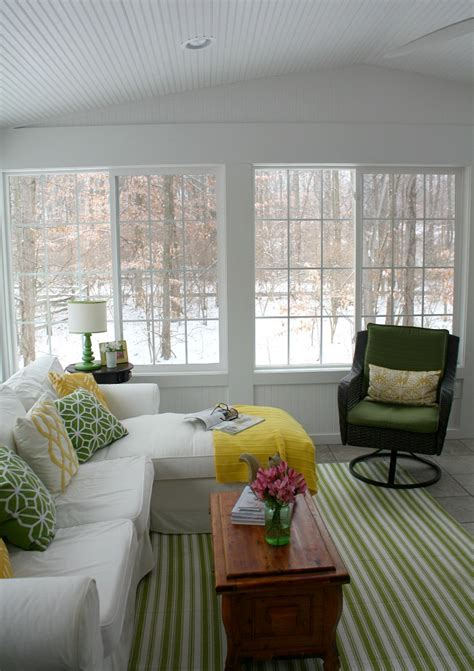 10 sunroom decorating ideas best designs for sun rooms the view from my sunroom on a snowy winter day