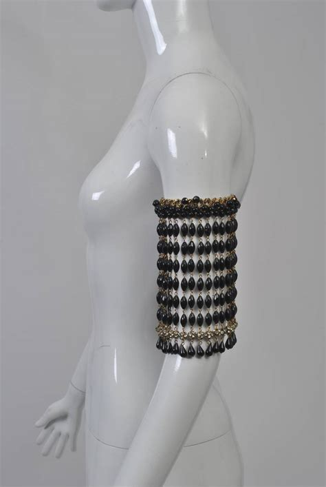 beaded armband beaded arm band at 1stdibs
