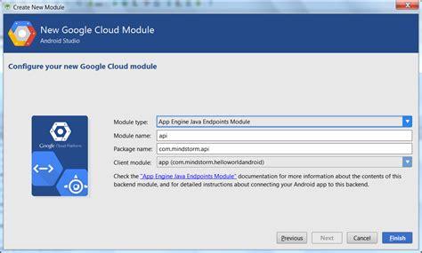 android studio module tutorial gradle tutorial part 8 gradle app engine endpoints
