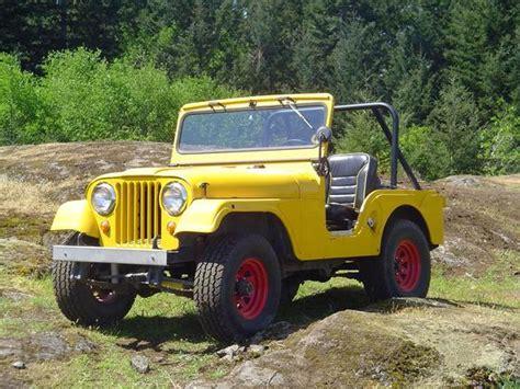 1964 Willys Jeep Ticknaaa 1964 Jeep Cj5 Specs Photos Modification Info At