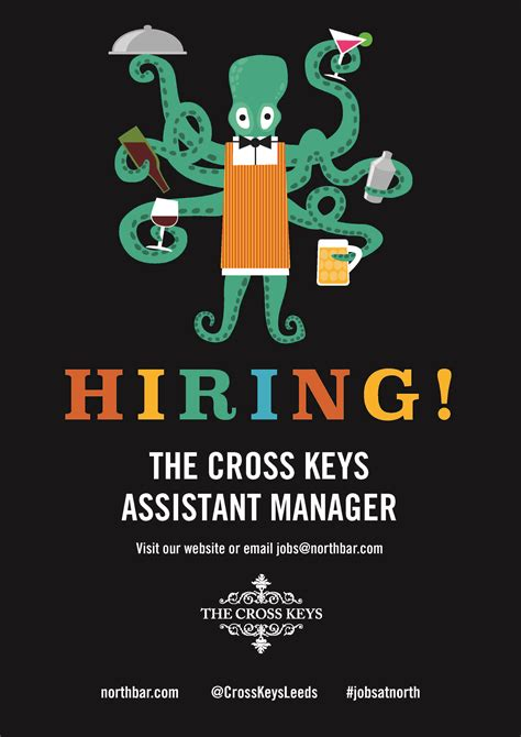 How To Hire An Assistant Manager We Re Hiring The Cross Assistant Manager