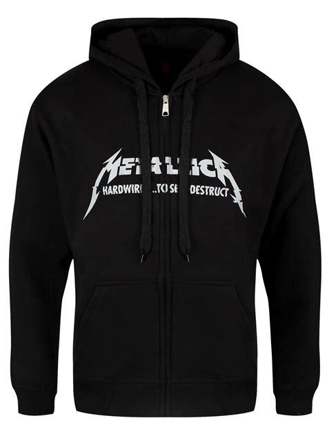 Hoodie Jaket Metalica Keren metallica hardwired album s black hoodie