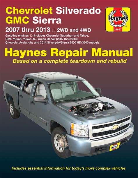 car repair manuals online pdf 1993 chevrolet 3500 electronic valve timing chevrolet silverado gmc sierra sierra denali 1500 models 07 13 silverado gmc sierra