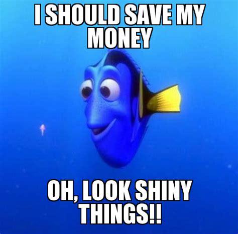 Saving Money Meme - this weeks antics blusher and mascara