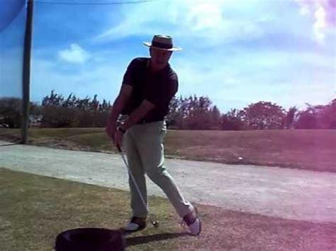 henry cotton golf swing hit it longer golf swing tire drill youtube