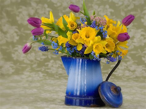 spring flower arrangements spring flower arrangement wallpapers hd wallpapers