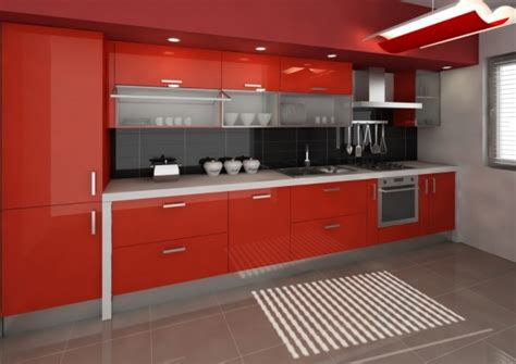 red and black kitchen cabinets black and red kitchen designs red and black kitchen